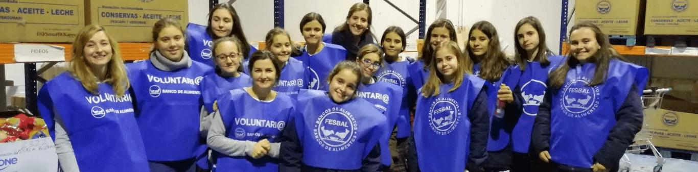 Chicas de Almira solidarias
