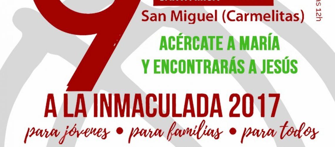 novena inmaculada 2017